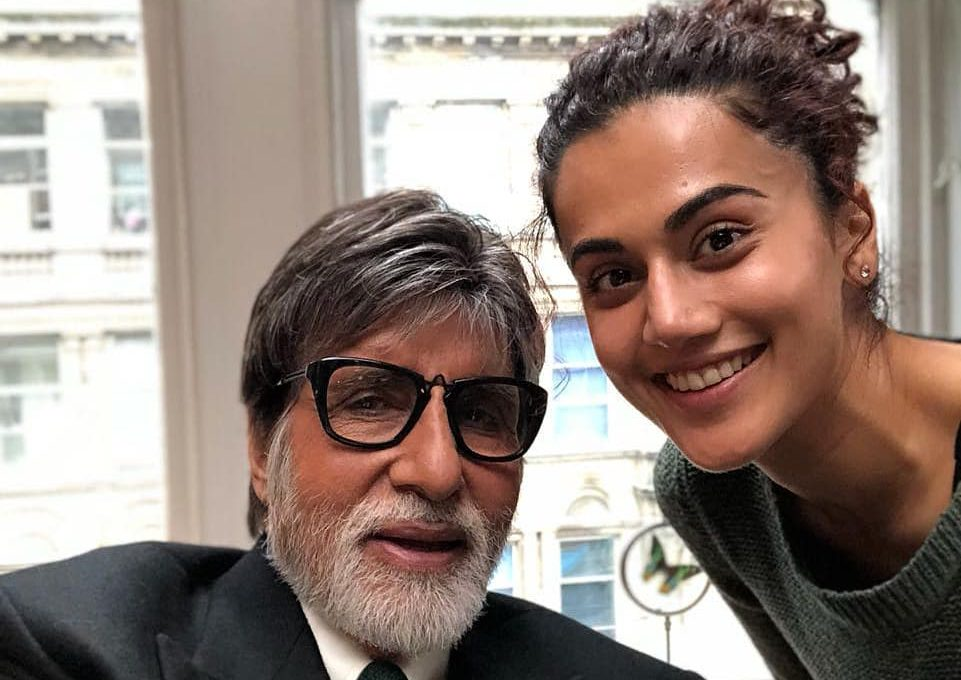 After 'Pink', Amitabh Bachchan & Taapsee Pannu Are Ready For 'Badla'