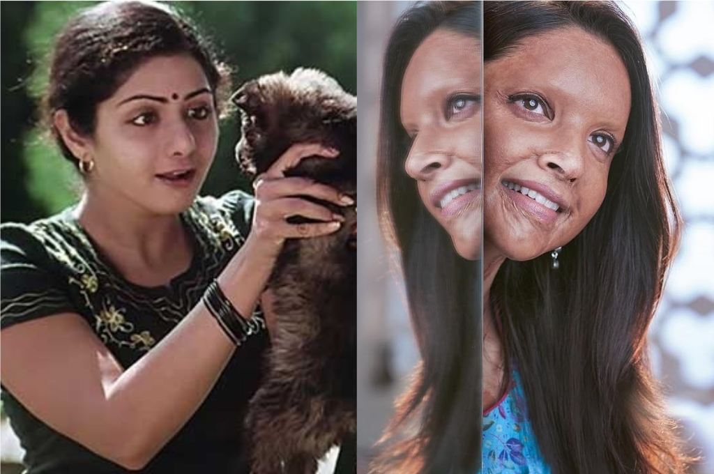 Sridevi In Sadma To Deepika In Chhapaak: 7 Heroines Who Have Challenged The Odds On Screen - GoodTimes: Lifestyle, Food, Travel, Fashion, Weddings, Bollywood, Tech, Videos & Photos