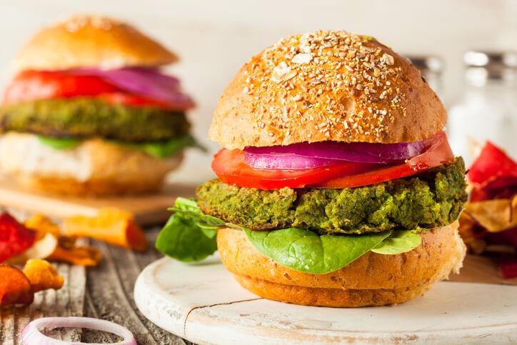 Spinach and Avocado Patty