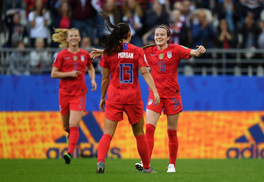U S Women's Soccer Team Criticised After Breaking World Cup