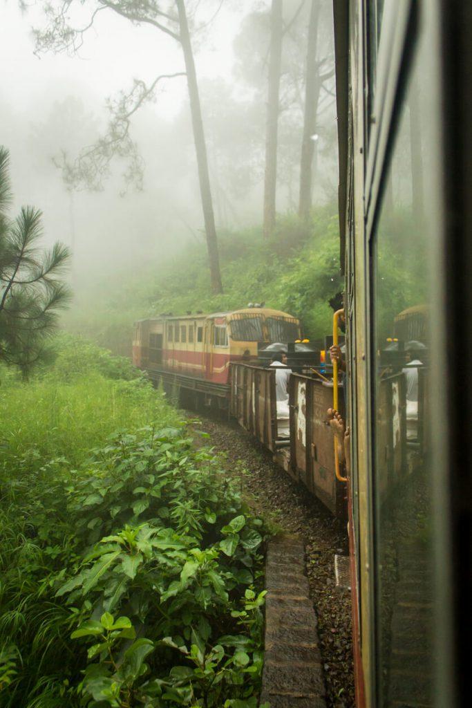 toy train ride to Barog