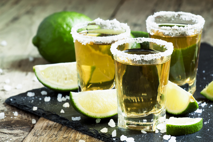 The Classic Tequila Shots