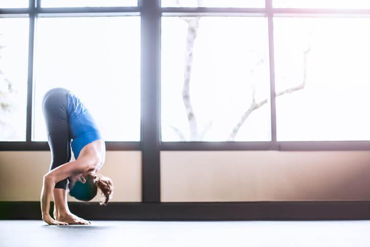 uttanasana yoga asanas