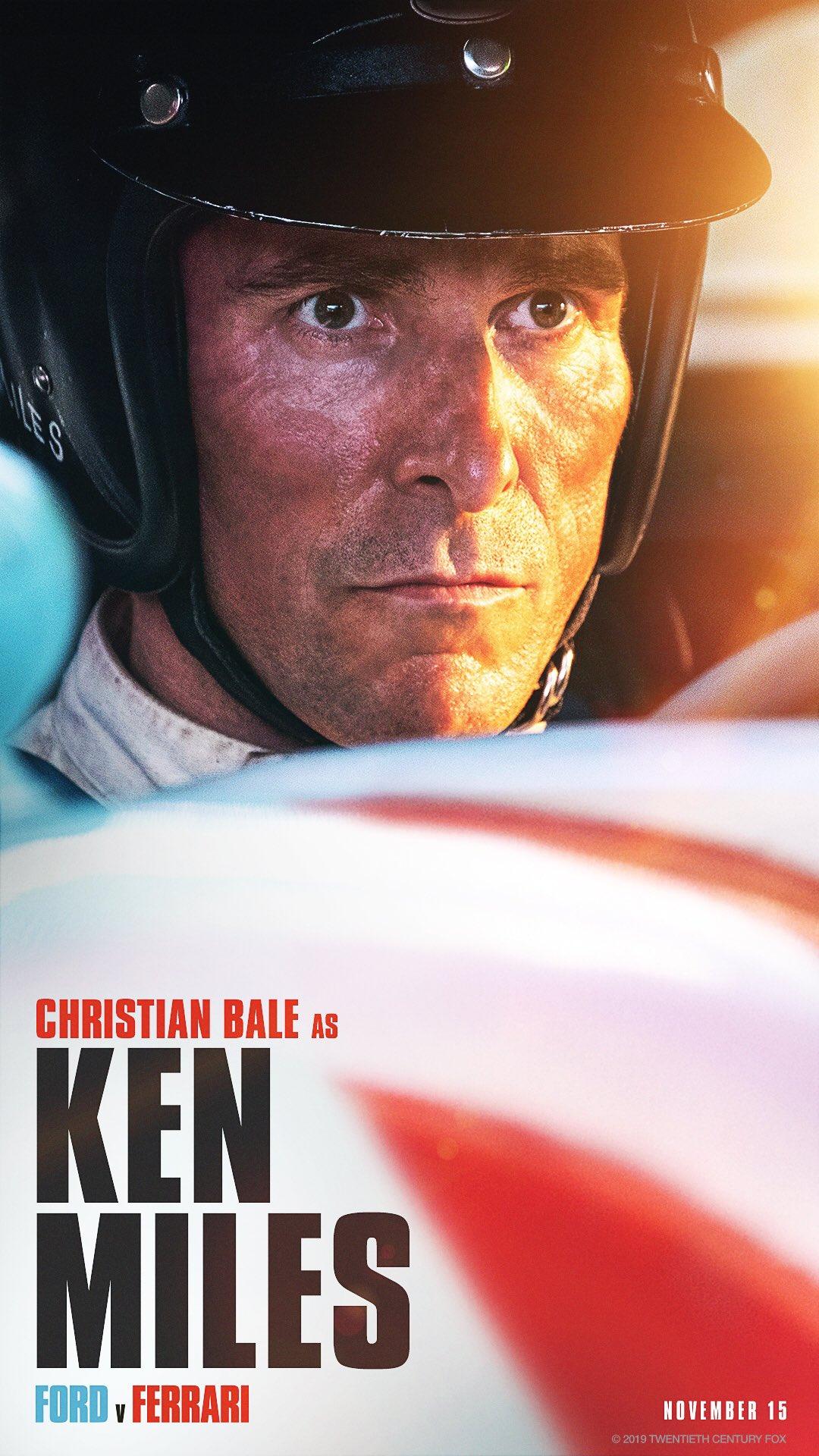 Christian Bale As Ken Miles In Ford V Ferrari Looks Hauntingly Similar To The Racer Goodtimes Lifestyle Food Travel Fashion Weddings Bollywood Tech Videos Photos