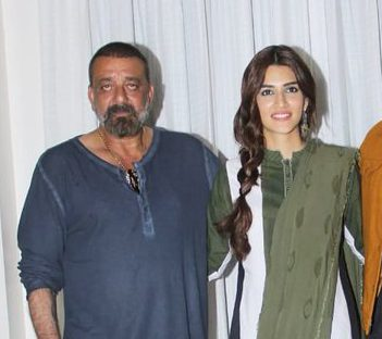 Sanjay Dutt Says He Would Love For Kriti Sanon To Be His ...