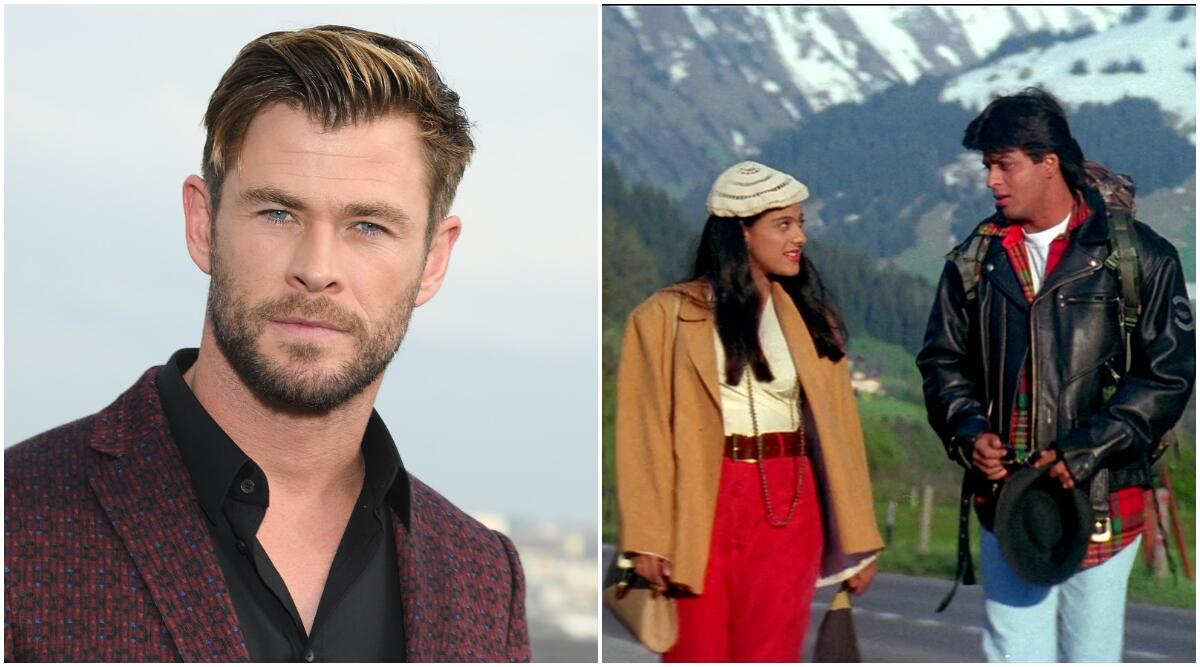 Watch: Chris Hemsworth Mouthing Shah Rukh Khan's Iconic 'DDLJ' Dialogue - GoodTimes: Lifestyle, Food, Travel, Fashion, Weddings, Bollywood, Tech, Videos & Photos