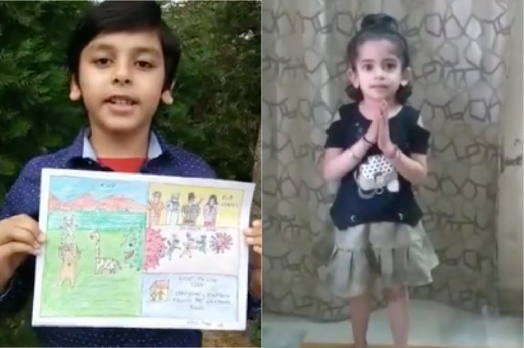 COVID-19: Punjab's Little 'Ambassadors of Hope' Set New World Record - GoodTimes: Lifestyle, Food, Travel, Fashion, Weddings, Bollywood, Tech, Videos & Photos
